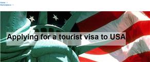 Applying for a tourist visa to USA
