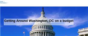 Getting Around Washington, DC on a budget